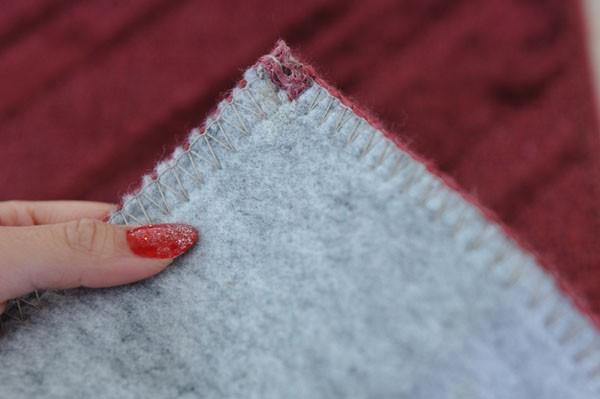 裏全体に防音効果のある不織布貼りです