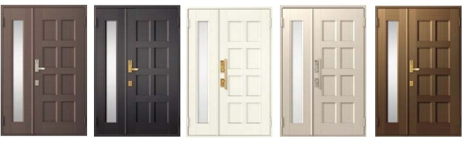 玄関ドアのカラーイメージ