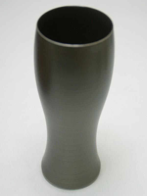 パール漆(グラス) ビアグラス パールシルバー