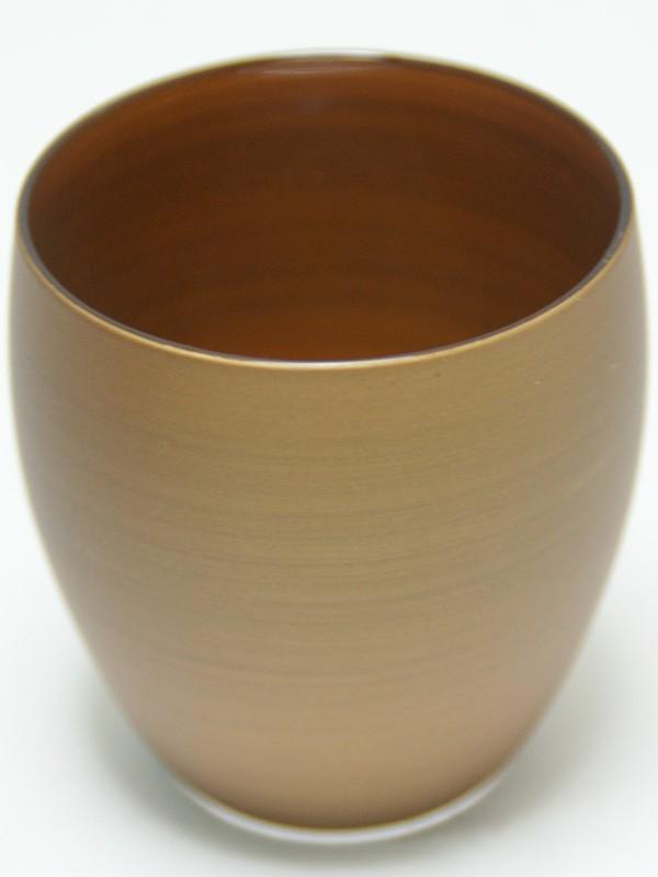パール漆(グラス) 冷酒 パールゴールド