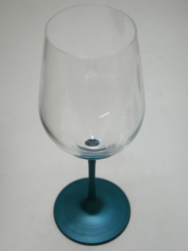 パール漆(グラス) ワイングラス パールブルー