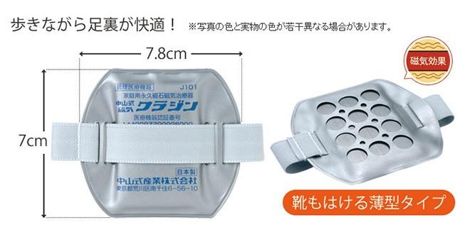 足裏専用の磁気インソール