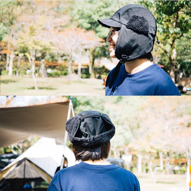 nakota ナコタ 撥水ナイロンフライトキャップ アビエイターキャップ パイロットキャップ 帽子