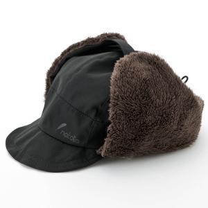 nakota ナコタ 撥水ナイロンフライトキャップ アビエイターキャップ 帽子 メンズ レディース ボア 防寒 冬|nakota|15