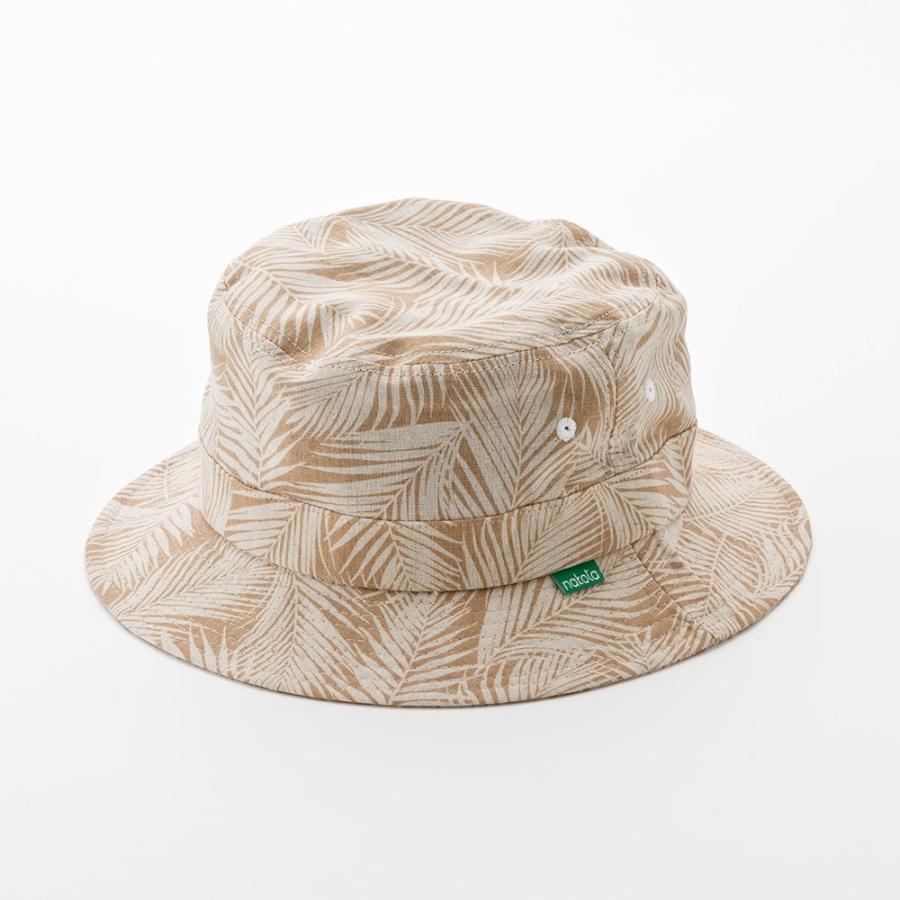 バケットハット 帽子 大きいサイズ nakota ナコタ ボタニカルリーフ ハット メンズ レディース|nakota|18