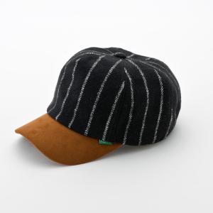 nakota ナコタ メルトンショートトリップキャップ 帽子 ストライプ ウール 秋 冬 旅 メンズ レディース ユニセックス|nakota|07