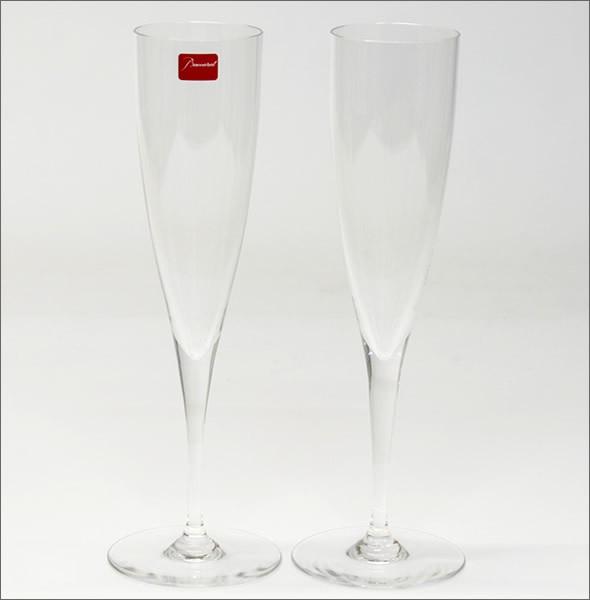 バカラ ドン ぺリニヨン シャンパン フルート ペア 1845244
