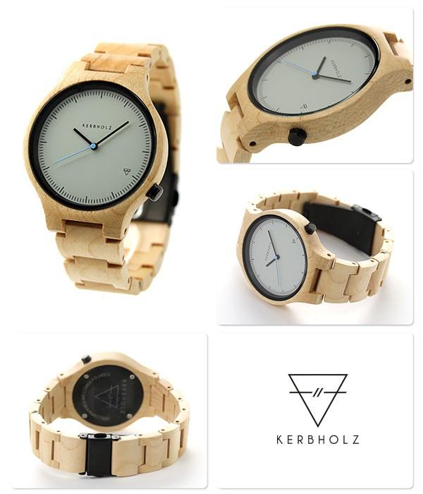 2d8275d46c カーボルツ ランプレヒト 木製 腕時計 9809004 /【Buyee】
