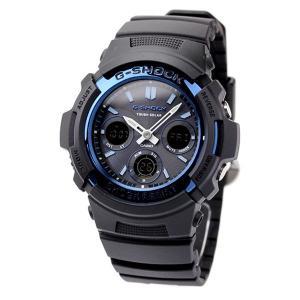 20日当店なら!最大22倍 G-SHOCK Gショック 電波ソーラー AWG-M100 電波 ソーラー アナデジ 腕時計 ブラック|nanaple|05