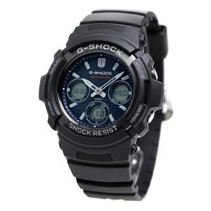 20日当店なら!最大22倍 G-SHOCK Gショック 電波ソーラー AWG-M100 電波 ソーラー アナデジ 腕時計 ブラック|nanaple|06