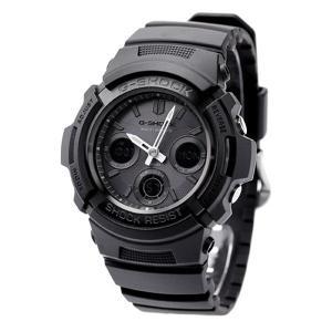 20日当店なら!最大22倍 G-SHOCK Gショック 電波ソーラー AWG-M100 電波 ソーラー アナデジ 腕時計 ブラック|nanaple|07