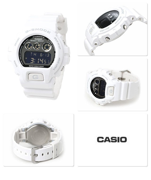 CASIO G-SHOCK DW-6900NB-7 Origin White Metallic Colors Men s Watch ... e56d63a65d90