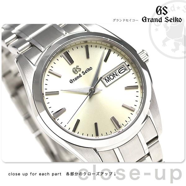 timeless design e26a9 93c2c 今ならポイント最大30倍! グランドセイコー SBGT235 セイコー 腕時計 メンズ 9Fクオーツ 37mm GRAND SEIKO 時計