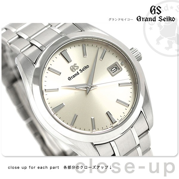 brand new a286d 5532e 今ならポイント最大30倍! グランドセイコー SBGV229 セイコー 腕時計 メンズ 9Fクオーツ 40mm チタン GRAND SEIKO 時計  :SBGV229:腕時計のななぷれ - 通販 - Yahoo!ショッピング