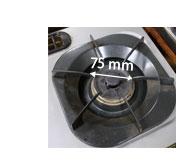 野田琺瑯スリムポットの底の大きさ