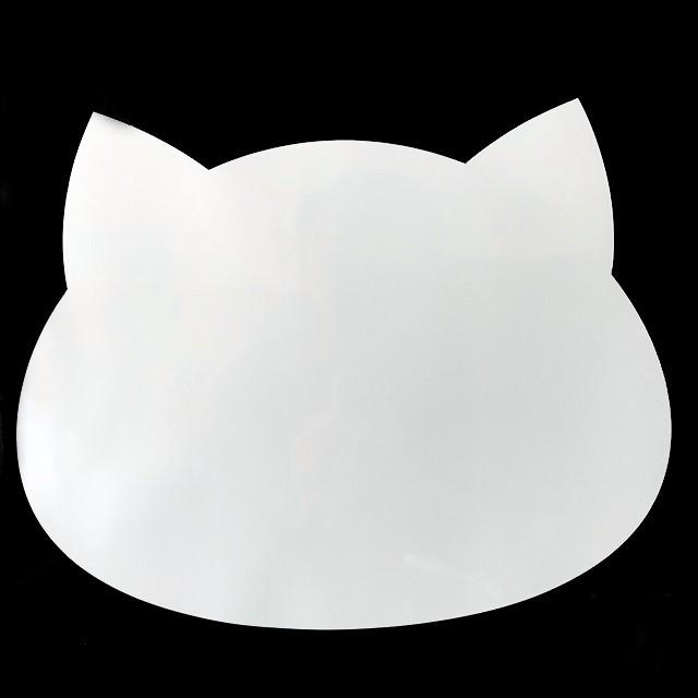 ねこ型吸着式ホワイトボード