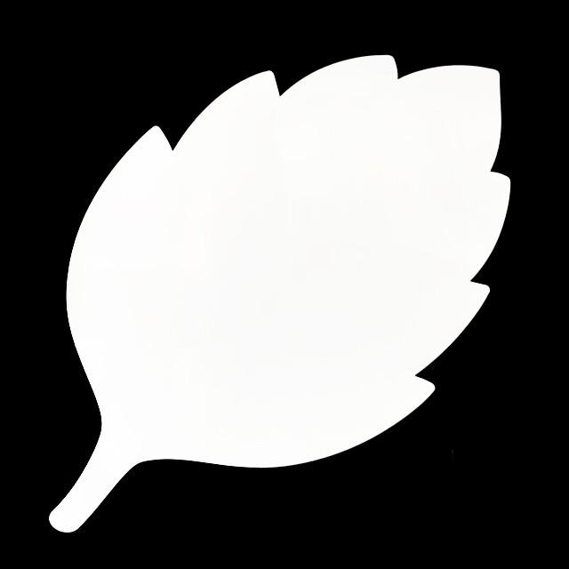 葉っぱ型吸着式ホワイトボード