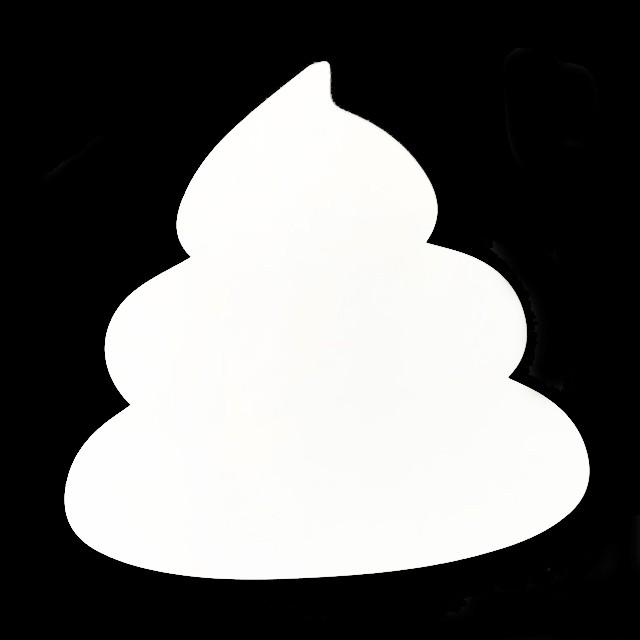 うんこ型吸着式ホワイトボード