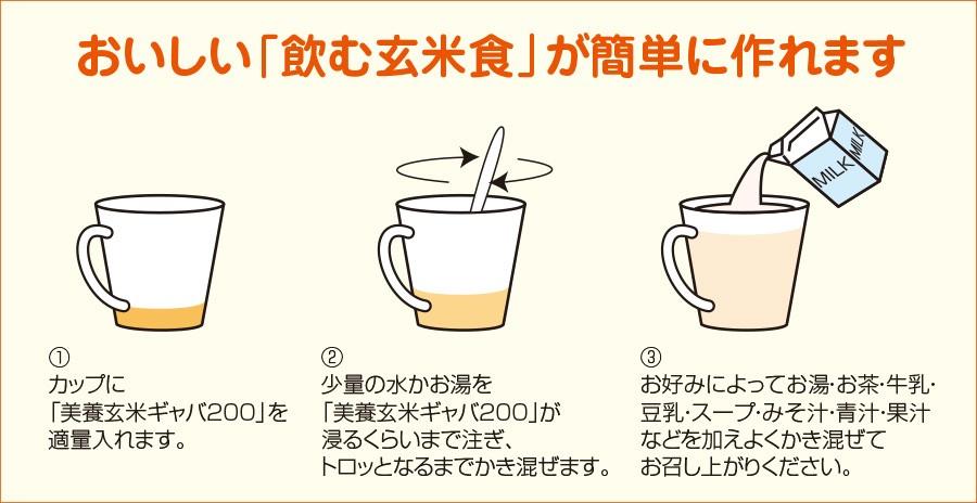 howto飲む玄米食