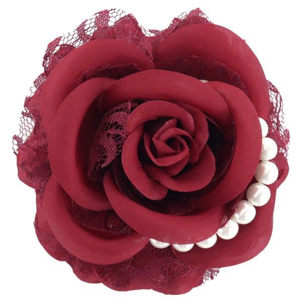 コサージュ パール付きローズコサージュ 花 フォーマル レディース 入学式 卒業式 結婚式 入園式 卒園式|naturalberry|15