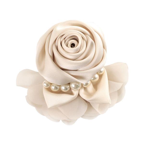 セール10%OFF 7/3までコサージュ パール付き サテンローズコサージュ フォーマル アクセサリー レディース 入学式 卒業式 結婚式 入園式 卒園式|naturalberry|10