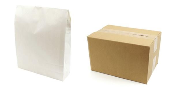 商品の大きさに合わせた梱包
