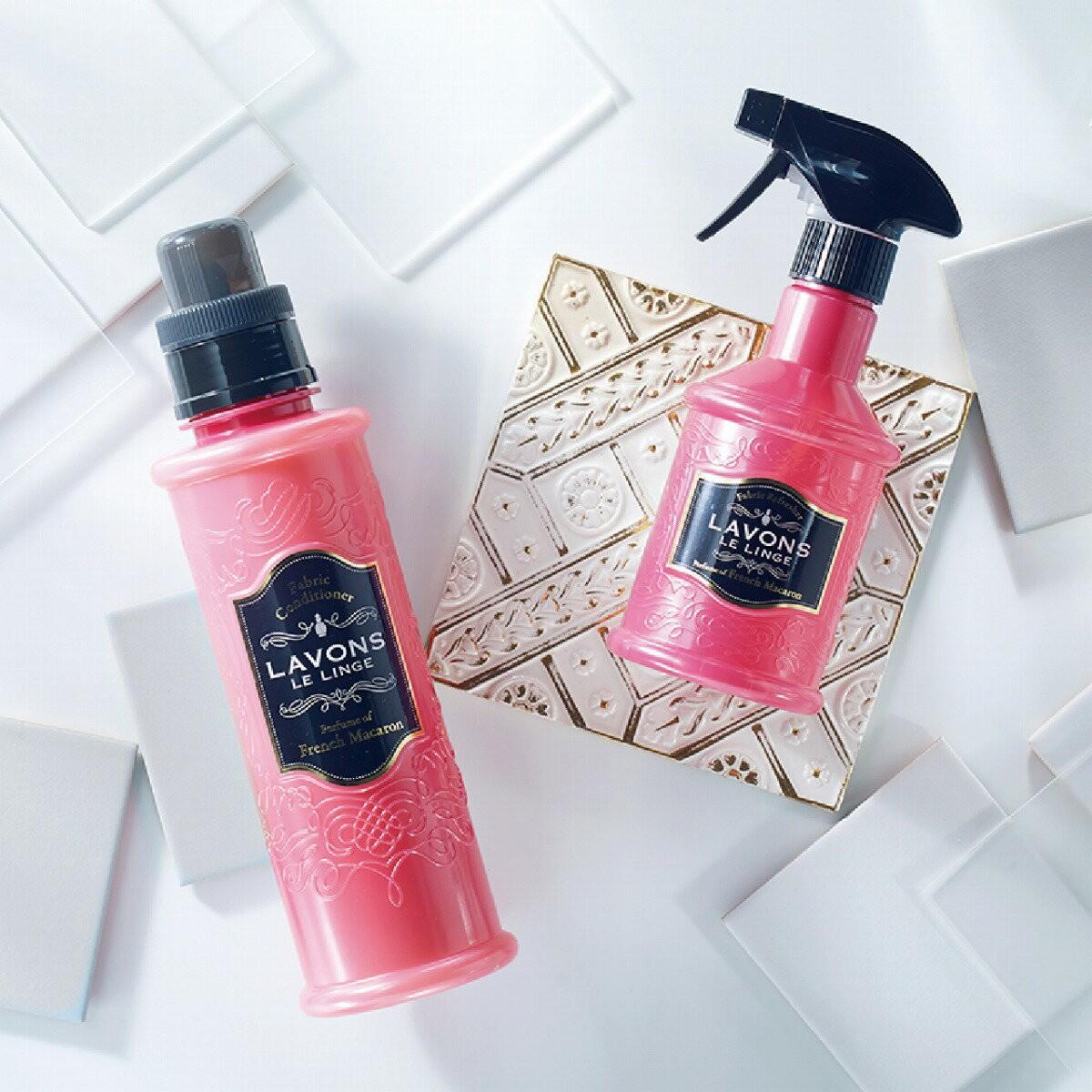 ネイチャーラボYahoo公式:ラボン 柔軟剤 フレンチマカロンの香り 詰め替え 480ml・イメージ写真5