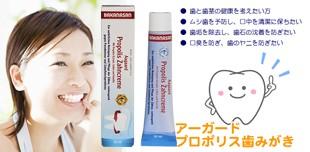 リニューアル プロポリス歯磨き