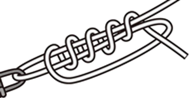 ルアーとラインを結ぶのに覚えておきたいのはユニノット!