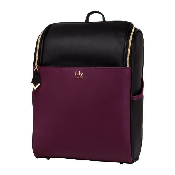 リュック レディース 大容量 バッグ リュックサック 大人リュック 通勤 通学 マザーズバッグ 軽い 軽量 おしゃれ 黒 カバン 鞄 かわいい Lily ndos 21