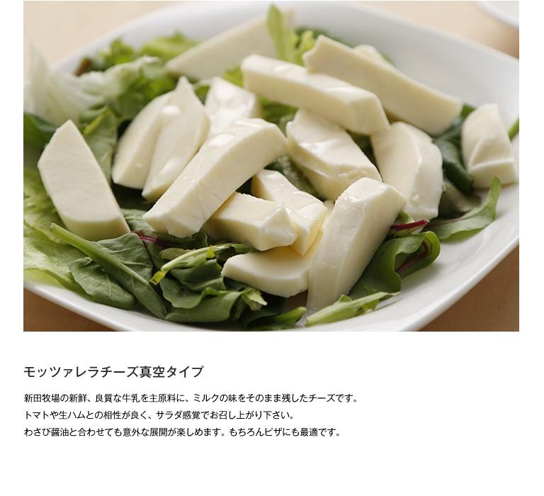 モッツァレラチーズ真空タイプ 100g