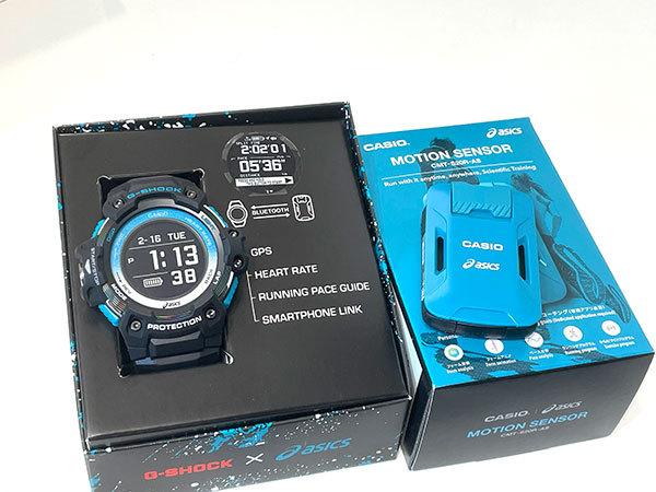 -SHOCK × アシックス モーションセンサーセット Runmetrix ランニングウォッチ GSR-H1000AS-SET 開封