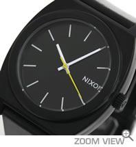 NIXON 腕時計 ニクソン TIME TELLER P NA119000-00 ブラック 文字盤