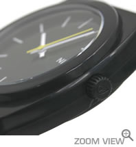 NIXON 腕時計 ニクソン TIME TELLER P NA119000-00 ブラック 横向き