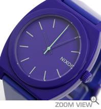 NIXON ニクソン 腕時計 TIME TELLER P NA119230-00 パープル 文字盤