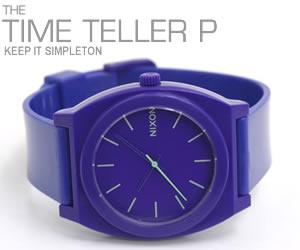 NIXON ニクソン 腕時計 TIME TELLER P NA119230-00 パープル モデル