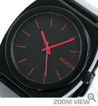 ニクソン 腕時計 TTP(TIME TELLER P) NA119480-00 ブラック/ブライトピンク 文字盤