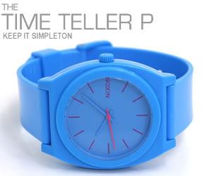 NIXON 腕時計 ニクソン TIME TELLER P NA119606-00 ブライトブルー