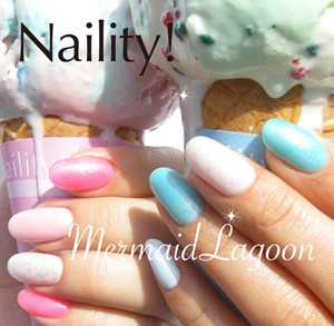 Naility!夏限定マーメイドラグーンシリーズ(カラージェル)