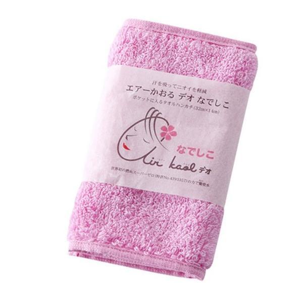 エアーかおる デオなでしこ タオル 全7色 日本製 タオル ハンドタオル ミニタオル ハンカチタオル 今治 メール便 送料無料 nenrin 06