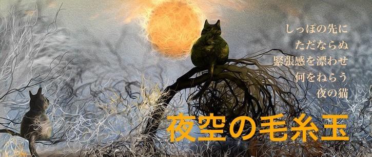 ネルバの新作「夜空の毛糸玉」
