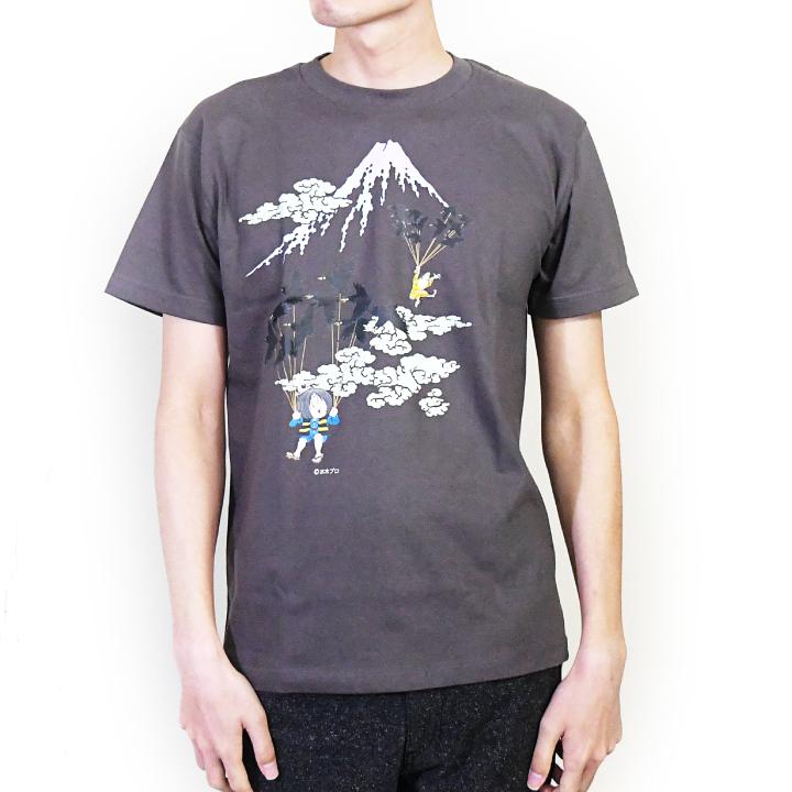 ゲゲゲの鬼太郎コラボTシャツ 空旅シリーズ(富士山)(半袖)