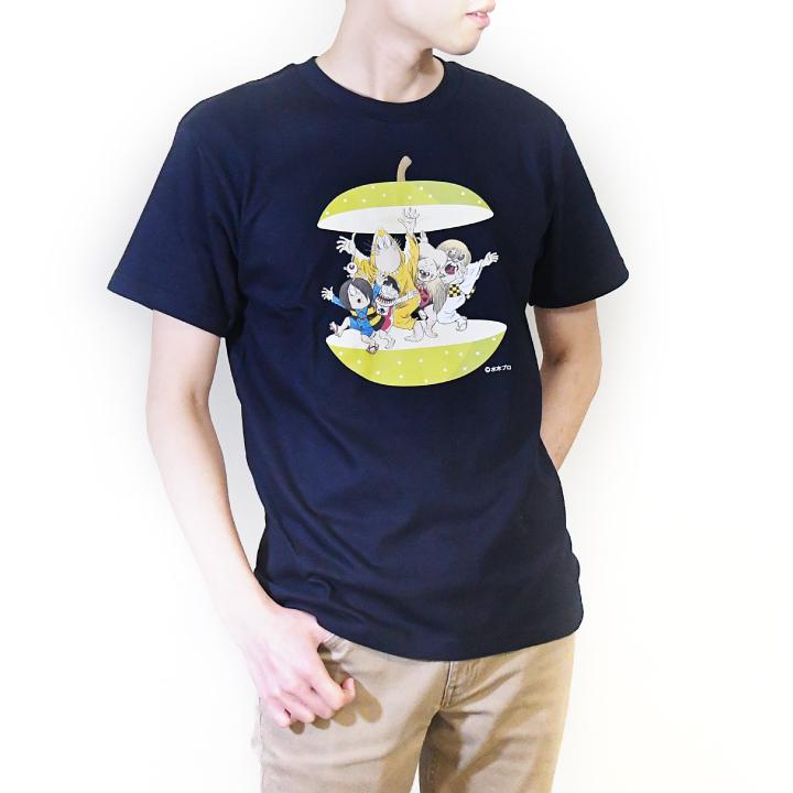 ゲゲゲの鬼太郎コラボTシャツ 鳥取シリーズ(二十世紀梨)(半袖)
