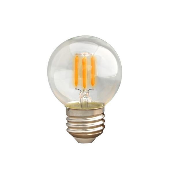 調光器対応 E26ミニボール形 エジソン バルブ EDISON BULB LED 3W 100V 口金E26 LED 照明 エジソン電球 LED 電球色 裸電球 レトロ 調光タイプ|nestbeauty|08