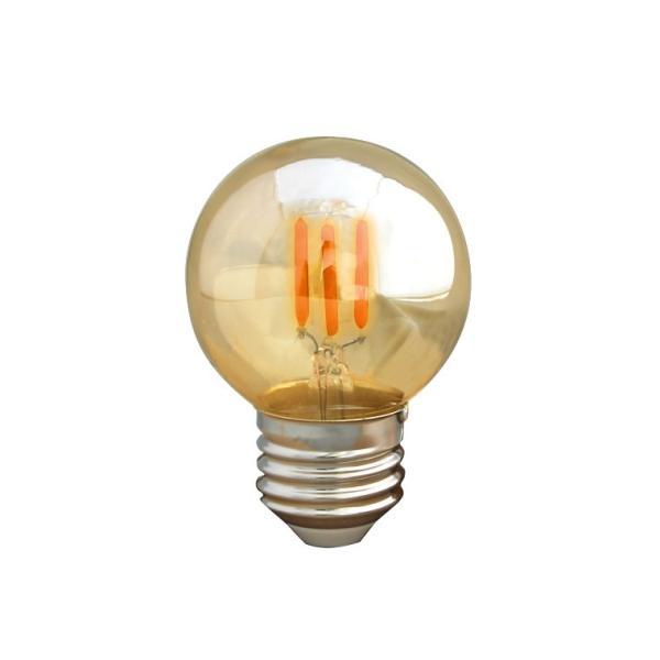 調光器対応 E26ミニボール形 エジソン バルブ EDISON BULB LED 3W 100V 口金E26 LED 照明 エジソン電球 LED 電球色 裸電球 レトロ 調光タイプ|nestbeauty|09