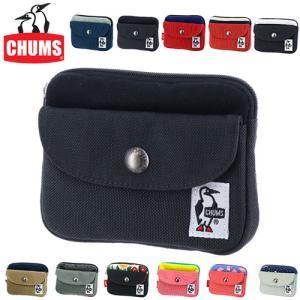 チャムス CHUMS ミニ財布 小銭入れ コインケース ポケットサイズウォレットスウェット Pocket Size Wallet Sweat Nylon ch60-2924 メンズ レディース 父の日|Newbag Wakamatsu