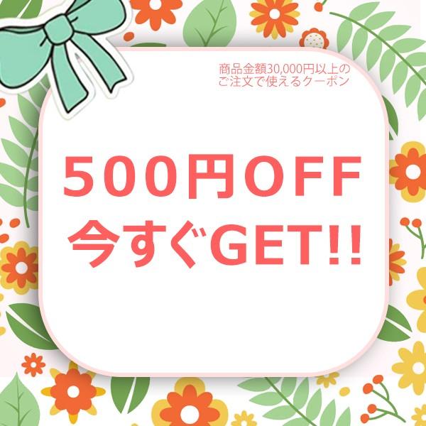 3万円(税込)以上のお買い上げで、 500円OFF
