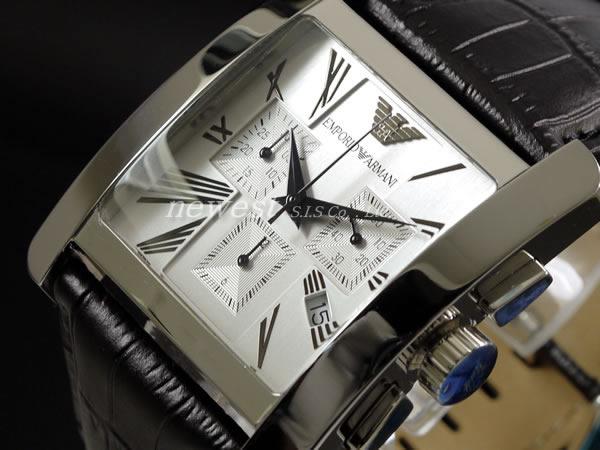 bc12e4c8fe0 EMPORIO ARMANI エンポリオ・アルマーニ 腕時計 AR0186 クロノグラフ ...
