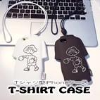 Tシャツ型iPhoneフォンケース-T-Shirts Case