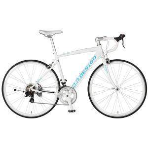 10%OFFクーポン!カギ&ライトプレゼント  アウトレット a.n.design works  5014AL 自転車 ロードバイク 本体 軽量 アルミ STI 14段変速 カンタン組立 nextbike 24